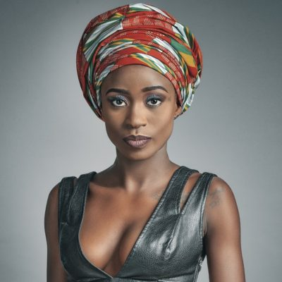Gasha, chanteuse camerounaise.