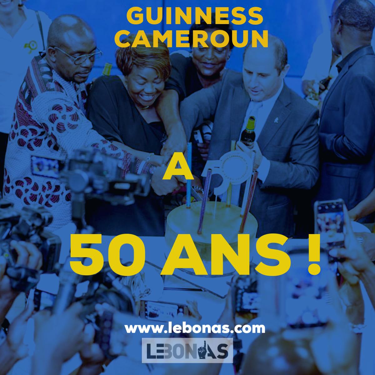 Célébration des 50 ans de Guinness Cameroun